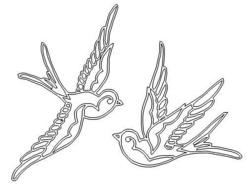 2 Vögel - 2 Birds