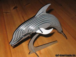 Delphin 3D Modell - Dolphin 3D model