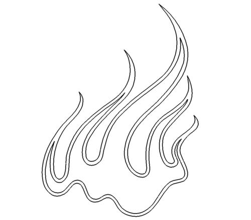Flammen Feuer - Flame Fire