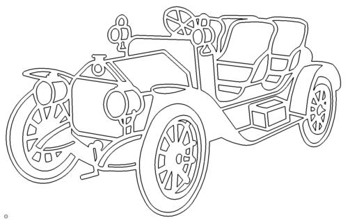 alter Alfa Oldtimer