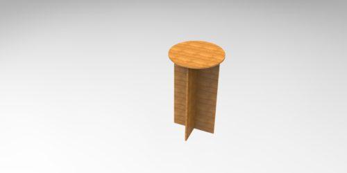 Abstelltisch 3D Modell - Table