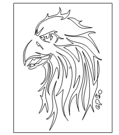 Adler Bild - Eagle Picture