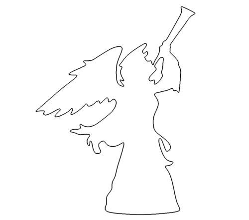 Engel mit Trompete - Angel with Trumpet