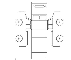 Auto 3D Modell - Car 3D Model