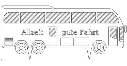 Autobus Allzeit Gute Fahrt - Autobus