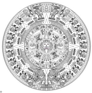 Azteken Kalender - Aztec Calendar