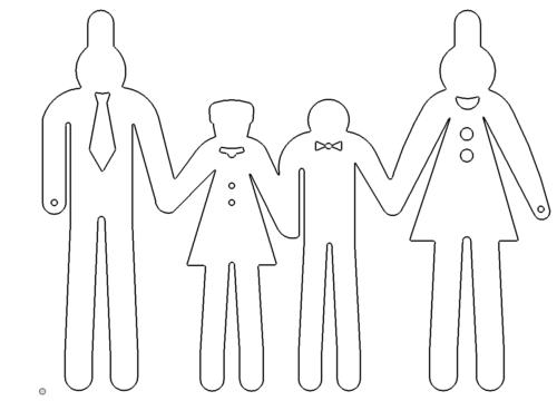 Familienschild - family shield