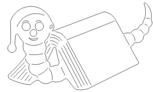 Buecherwurm - Bookworm