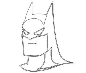 Batman Kopf - Batman Head