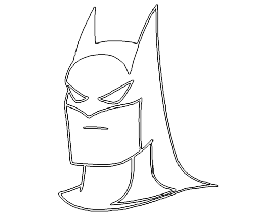 Batman Kopf - Batman Head