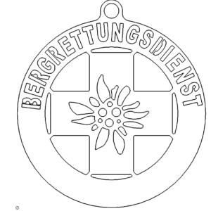 Logo der Bergrettung - Logo of the Mountain Rescue Service