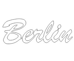 Schrift Berlin