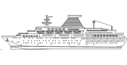 Kreuzfahrtschiff - Cruise ship