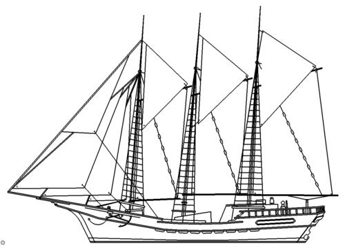 Segelboot - sailboat