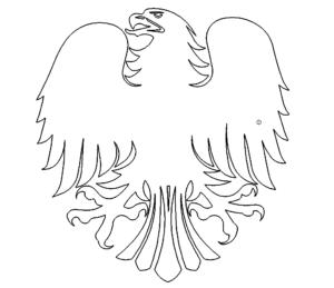 Bundesadler - German eagle