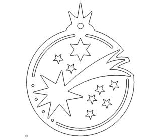 Christbaumschmuck Sterne - Christmastree Star