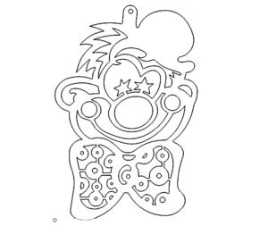 Clown1 DXF