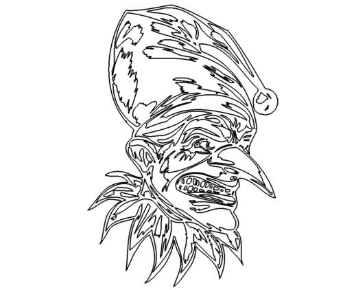 Boeser Clown - Evil Clown