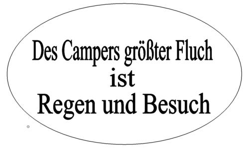 Camper Spruch
