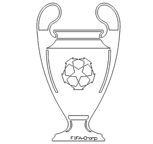 Champions Leaque Pokal - Champions League trophy