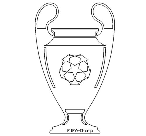 Champions Leaque Pokal - Champions League trophy