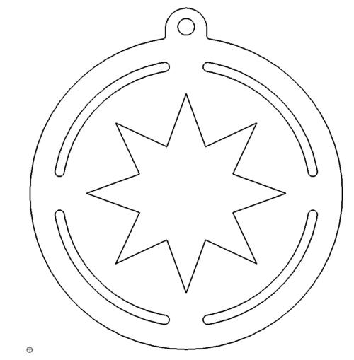 Schlüsselanhänger Sterne - Keychains Stars