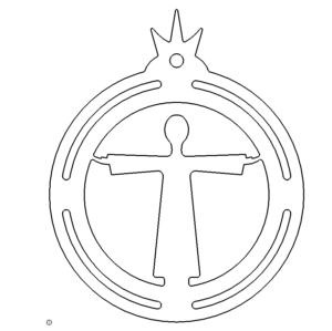 Christbaumschmuck Jesus - Christmastree Jesus