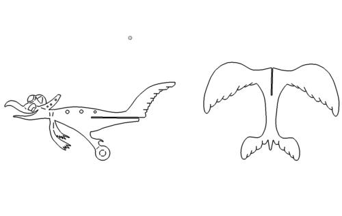 Cormoran / Albatros 3D Modell - Cormoran / Albatros 3D modelCormoran