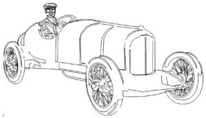 Daimler Benz OLDIE