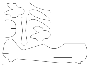 Doppeldecker 3D Modell - Biplane 3D model