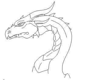 Drachenkopf Böse