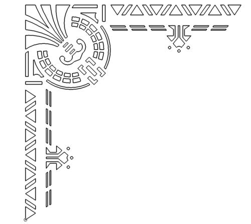 Ornament Ecke