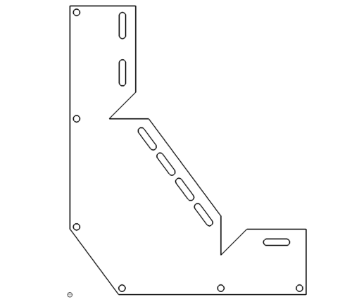 Eckwinkel zum Kanten - Corner bracket for edge