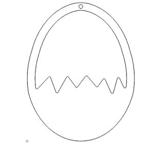 Aufsteller, Eierhalter, Ostern - Stand, egg holder, Easter