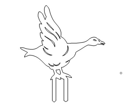 Ente zum stecken - Duck for sticking