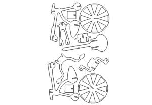 Fahrrad 3D Modell - Bike