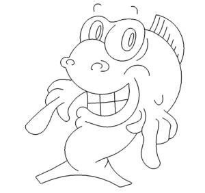 lustiger Fisch - funny fish