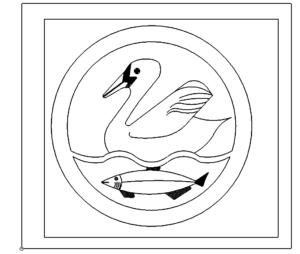 Fisch + Schwan - Fish + Swan