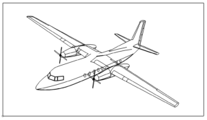 Flugzeug Fokker -  Fokker aircraft