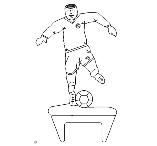Fussballer - Footballer