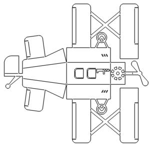 Flugzeug 3D Modell - Plane 3D Model