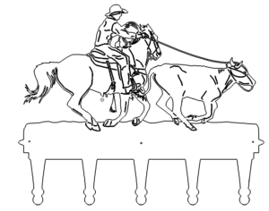 Garderobe Cowboy - Coat Cowboy