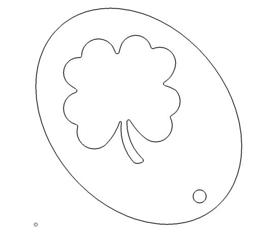 Glücks - Klee Schlüsselanhänger - Happiness - Clover Keychains