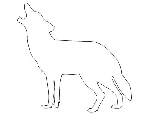 Heulende Wolf - Howling Wolf