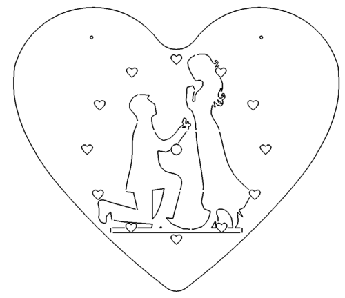 Heiratsuhr - Marriage Suhr