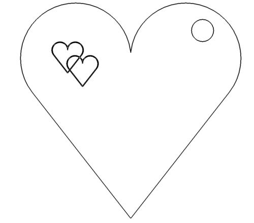 Herz-Anhänger - Heart Pendant