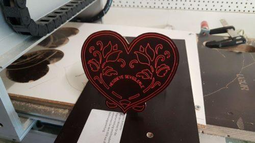 Herz mit Blumen - Heart with Flower
