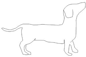 Hund Dackel - dog dachshund