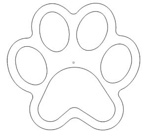 Hundepfote - dog Paw