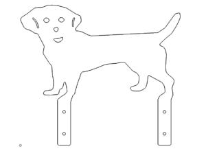 Hund Schild - dog sign